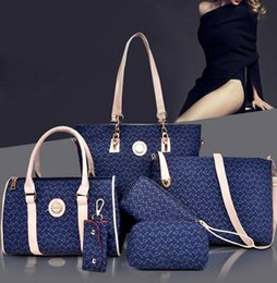 Wholesale HOT women fashion high grade leather shoulder bag handbags women messenger bags print purses pieces sets bolsas