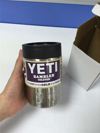 Wholesale Yeti OZ Cups YETI Rambler Tumbler Travel Vehicle Beer Mug Double Wall Bilayer Vacuum Insulated Stainless Steel ml from dora