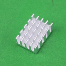Wholesale 8PCS Aluminium Heatsink DDR VGA RAM Memory IC Chipset Heat Sink Cooling x19 x7 mm sink strain