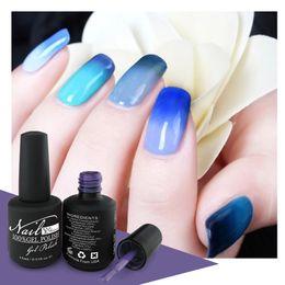 Temperature changing color uv polish soak off gel for professional nail salon