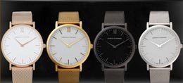 Wholesale hot new Larsson Jennings men s luxury brand quartz watch Fashion wrist watch Japanese quartz clock Stainless steel strap