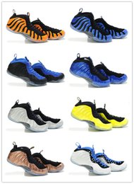 Wholesale Cheap Man Air Penny Hardaway Shoes Men Foams Galaxy One Basketball Shoes Air Penny Foams Hardaway Olympic BasketBall Sneaker Running Shoes