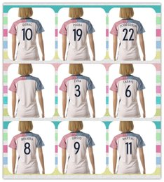 Wholesale New Product Women s Women European Cup France GRIEZMANN GIROUD GIGNAC POGBA Soccer Jersey White Away Jerseys Shirt