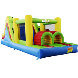 Wholesale Residential Inflatable Bouncer Castle Playground Jumping Obstacle Course