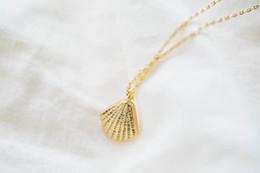 Hot sale hippie chic seashells pendant drop necklace Bohemian fashion women Neclaces 2016 ms thin necklace
