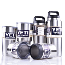 Wholesale Yeti oz oz oz oz oz oz Rambler Tumbler Bilayer Insulation Cups Cars Beer Mug Large Capacity Mug Tumblerful DHL OTH242