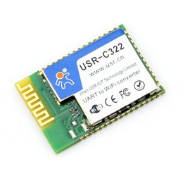 Wholesale Industrial Module Serial UART to Wifi Module Wireless Converter with TI CC3200 Chip Low Power Embedded with External Antenna USR C322b