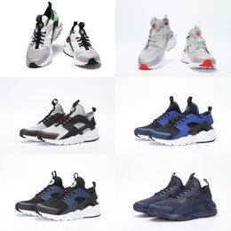 Wholesale Supply Pharrell s NMD Air Huarache Race Runner Sports Running Man Sizes36 Shoes Air Huarache Race knit upper sneakers NMDs with box