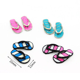 Bathroom Living Room Shoes Pink Slippers 1 12 Dollhouse Miniature by Generic