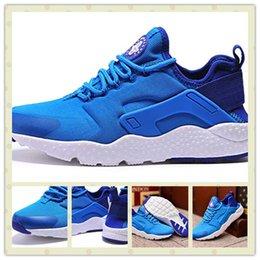Wholesale Hot Sale Classic Men Air Huarache Run Ultra Photo Blue Sports Running Shoes Cheap Famous Women Huarache Trainer Sneakers Size