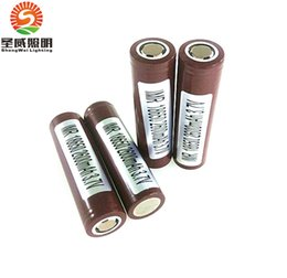 Wholesale Original Battery mAh A Rechargable Lithium Batteries VS Sony VTC5 VTC4 LG HG2 HE2 HE4 Battery Fedex