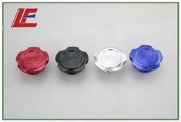 Wholesale Details about BILLET ALUMINUM ENGINE VALVE COVER OIL FILLER CAP WRX STI TURBO Fit for Subaru