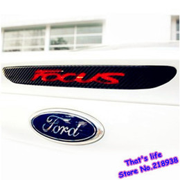 Wholesale New style Carbon fiber modified high brake lights stickers special for Ford focus AP