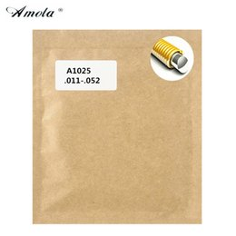 AMOLA Acoustic Guitar Strings Original A1002 A1025 A1027 A1052 A1100 Brass Guitar Strings Guitar Accessories