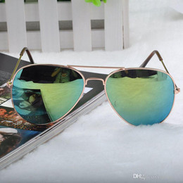 14 Color Sun Glasses Metal Frame Eyewear Glasses Bat Mirror UV Summer Style Sunglasses Women Men Resin Sunglass *41
