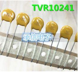 Free Shipping 20PCS TVR 10241 10D241K 240v DIP VARISTOR METAL OXIDE