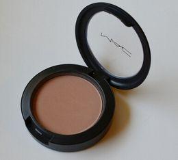 Wholesale 12 Hot MINERALIZE Blush bronzer Baked Makeup Powder Blusher Color Sheertone Blush Professional Portable Cosmetics