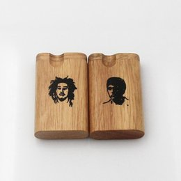 Wholesale Real wood of wood dugout will make your tobacco keep natural herbal smell Note only use leftover material production Have a logo