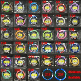 Wholesale 35 Colors Available Hot Sale Charm Silicone Beads Bracelets Mud and Water With Original Tags Fashion Jewelry Newest Shark Style