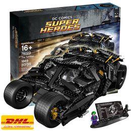 Wholesale Decool DC Super Heroes Batman The Tumbler Blocks Bricks Toys Set Boy Game Set Compatible with Lepin Bela LEGOelids