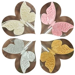 Laser Cut Double Butterfly Table Mark Escort Wine Glass Name Place Cards for Wedding Decoration Baby Shower Favor Birthday Party Supplies