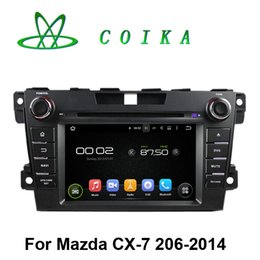 Wholesale 7 Inch Android System Auto Radio Receiver For MAZDA CX Car DVD WIFI G OBD DVR BT Phonebook Quad Core Media Player