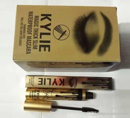 Wholesale 2016 Hot sale luxury gold kylie single head mascara waterproof and sweat not dizzy catch