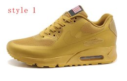 Wholesale High Quality Sport Max Women Men Running Shoes Max New Women Running Sneakers American Flag Sport Trainers