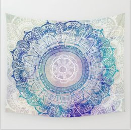 Wholesale 9 Different Designs Vanitas Mandala Tapestry Wall Hanging Moroccan Indian Printed Decorative Wall Tapestries Different sizes