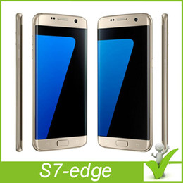 Wholesale S7 Edge cell phone S7 Edge phone goophone S7 edge phones inch G Network MTK6582 Quad Core RAM G ROM GB Camera MP S7 Edge phone