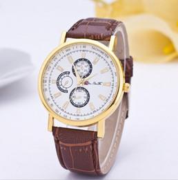 Descuento los mejores relojes de moda de calidad Moda relojes de los hombres relojes de alta calidad 3 ojos Relojes mejor regalo 20pcs / lot liberan el envío vía DHL o TNT JH10334