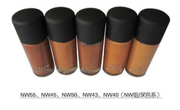 Wholesale Brand Makeup STUDIO FIX FLUID SPF15 Matchmaster FOUNDATION ML Glass bottles liquid make up foundation