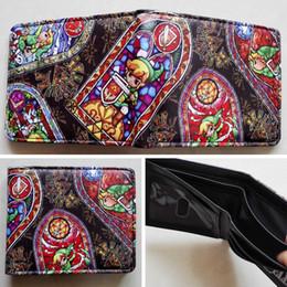 Game The Legend of Zelda Logo wallets Purse Multi-Color 12cm Leather New W155