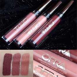 Wholesale Cheap Price Makeup Cosmetics Lip Gloss Manny MUA X OFRA Liquid Lipsticks Long Lasting Aries charmed hypno Factory Direct