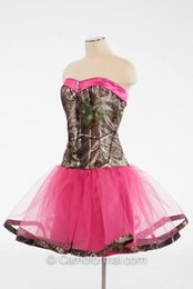 Fushsia Mini Short Camo Prom Dresses 2016 Cystal Beaded Cocktail Gowns Latest Dresses Party Evening with Cute Tulle