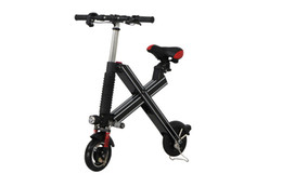Wholesale Cool Black Electric Folding Bicycle One Seat Mini Type K1 Cycling Has Charger Ah Battery For Samsung