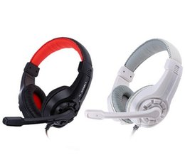Adjustable 3.5mm Esport Headphone Game Gaming Headphones Headset Low Bass Stereo with Mic Wired noise cancelling headphone for Computer