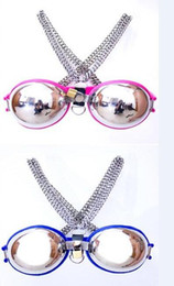 2014 New Chastity bra stainless chastity devices sex toys SM bondage stainless steel chastity bra made of female bra clothing