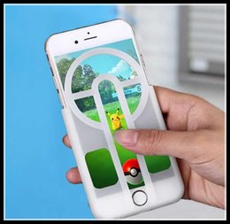 Wholesale 2016 New Arrival Poke Mon Go Cases For iPhone s plus Samsung S6 Note7 Magic Catcher Poke Go Popular Game Phone Sight