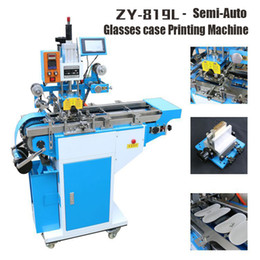 ZY-819L Semi-Automatic Stamping Machine,leather LOGO Creasing machine,pressure words machine,glasses case coding machine