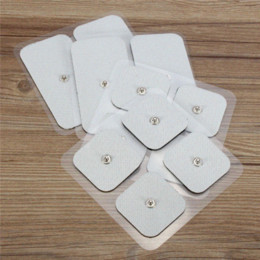 12 Piece Electrode Pads Tens Electrodes for Tens Digital Therapy Machine Massager 8x 45x45mm + 4x 50x100mm Nerve Stimulator