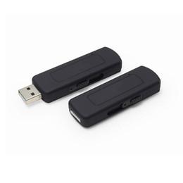 Envío libre UR09 4 GB de disco USB activada por voz, cámara espía grabadora de audio, disco de u grabadora de voz, grabadora de audio flash de U Venta caliente! desde cámara espía venta caliente fabricantes