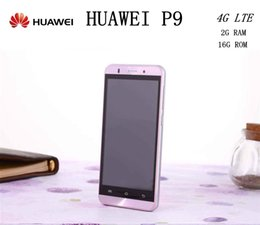 Wholesale hot huawei P9 Mobile Phone inch IPS x1080px MP Android MTK6592 Octa Core G RAM G ROM Dual SIM G Phone with gifts