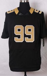 Wholesale New Football Jerseys New Draft Jerseys Jersey Black And White Color Size Stitched Mix Match Order All Jerseys