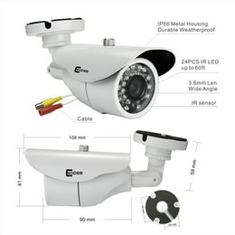 Wholesale CNHIDEE High Quality New HD TVL CH P Realtime Record CCTV System AHD DVR Kit Security Camera P AVR HVR NVR in kit
