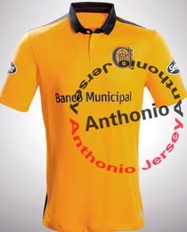 Wholesale soccer jersey Rosario Central camisetas futbol camisa de futebol maillot de foot survetement football kit uniform football shirt