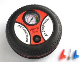 Wholesale Car Styling Inflatable Pump V PSI Mini Portable Car Air Compressor Tire Electric Inflater Auto Pumps
