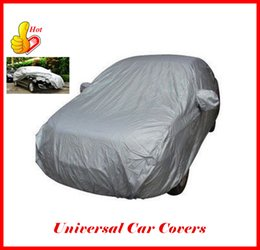 Wholesale Universal Car Covers Cloth Styling Auto Parts Sunshade Heat Protection Waterproof Dustproof Anti UV Scratch Resistant Sedan ATP100