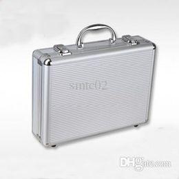 Wholesale Spring Aluminum Frame Briefcase Fashion ABS Solid Portable Men Attache Case Portfolios Organizer Men Briefcase H