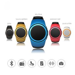 Wholesale Smart Watch B20 Music Sport Wireless Bluetooth Mini Speaker intelligent hands free call clock alarm timer Anti lost TF FM Radio